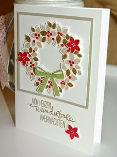 Wonderous Wreath Stampin' Up!