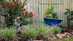making a fairy garden in a wheelbarrow   Secret Fairy Garden in an Upcycled Wheelbarrow « The Seasonal Home
