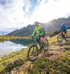 MTB holidays in Austria combined with private apartments in the Rittis Alpin Chalets - the perfect accommodation for mountainbikers! Mtb, Austria, Bicycle, Explore, Holiday, Chalets, Viajes, Bike, Vacations
