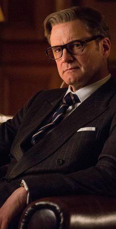 Colin Firth / Mr. Hart Kingsman Suits, Kingsman Movie, Colin Firth Kingsman, Star Trek Games, Taron Edgerton, Kingsman The Secret Service, David Morrissey, James Bond Style, Sir Anthony Hopkins
