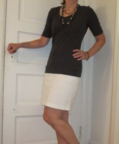 Flattering50: Grey is my new summer color