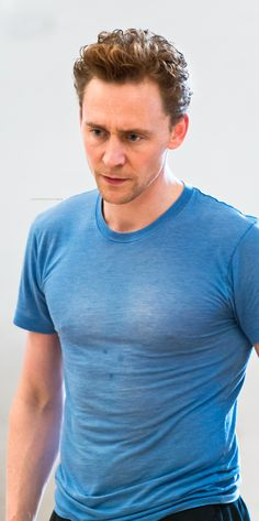 Thin blue t-shirt...how do I love thee? Let me count the ways...1...TWO #nippleston
