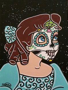 Disney Sugar Skull Wendy ○Kitty OGane ( My Art )