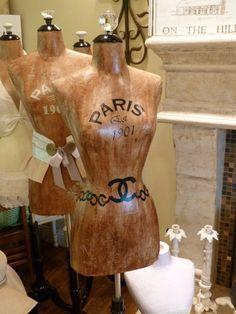 7 Ways To Use A Dress Form-Dress Form Designer Fashion Mannequin Paris Vintage Inspired