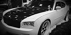 luis Dodge Charger on - Big Rims - Custom Wheels Ford Mustang Car, Ford Mustangs, Dog Car Accessories, Matte Black Cars, Wheel Logo, Shelby Car, Car Throttle, Motorcycle Wheels, Truck Wheels