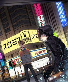 Kaneki and Hide || TG