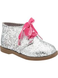 Old Navy | Glitter Ankle Boots for Baby