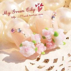 Aliexpress.com : Buy Flower false nail patch bride nail art from Reliable gel nail suppliers on Jessie's shop. $7.40