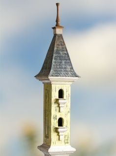 Beautiful victorian birdhouse