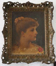 Antique Victorian Portrait of Louisa by by EleanorMeriwether, $500.00