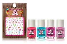 Piggy Paint Party HeartY 5 Pack Gift Set Including Nail Art Stickers >>> Read more reviews of the product by visiting the link on the image.
