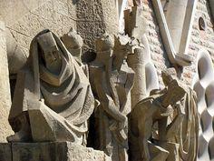 Sagrada Familia church by Antoni Gaudi - Barcelona, Spain by David Berkowitz,