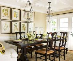 Image result for farmhouse dining room ideas