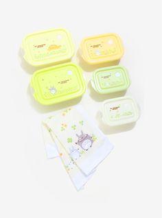 Studio Ghibli My Neighbor Totoro Container Gift Set,