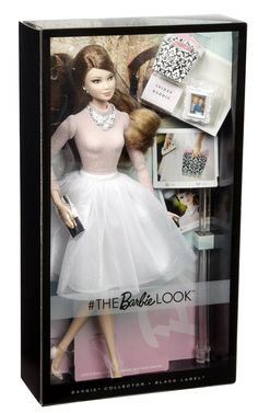 Amazon.com: The Barbie Look Barbie Glam Party Doll: Toys & Games