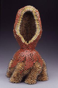 Las Increíbles Esculturas Hechas Con Lápices De Jennifer Maestre - FuriaMag | Arts Magazine