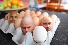 How to Create Big Heads in an Egg Tray | Photo Editing
