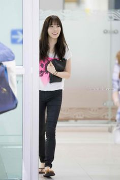 060214 Taeyeon Gimpo Airport
