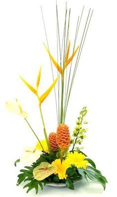 Modern Bowl Flower Arrangement   Online Florist Australia
