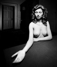 Bill Brandt: Nude, Micheldever Hampshire, 1948.
