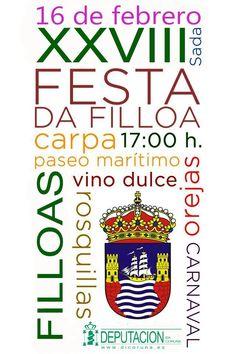 XXVIII Festa da Filloa en Sada 16 de febrero
