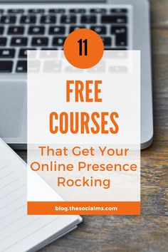 There are endless free courses and other resources online which you can use to learn how to get more out of your online marketing efforts. Free Courses, Online Courses, Small Business Marketing, Online Business, Marketing Communication Strategy, Education Sites, Never Stop Learning, Educational Websites, Create Website
