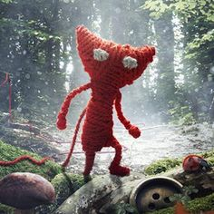 Unravel. The tutorial level alone made me cry big tears. Such a beautiful game.