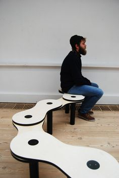 Bench - kerstinkongsted #furniture #mobilier #banc #bench #design #interior