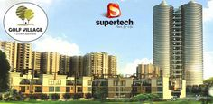 #SupertechGolfVillage is developed by Supertech in Yamuna Expressway Noida, offers 1, 2 and 3 BHK spacious apartments. Read more - http://www.apartmentsnoida.com/supertech-golf-village/