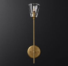 Torche De Verre Single Sconce