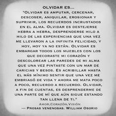 〽️Olvidar es... William Osorio Nicolás