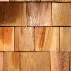 Western Red Cedar Red Label Shingles