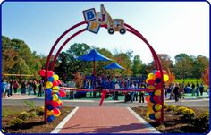 "The first ""boundless"" playground built in New Jersey. Jake's Place is a community built, all access playground at Challenge Grove Park in Cherry Hill, NJ."
