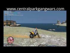GTA IV:Multiplayer mod (PC) - Central Park GANG Wars - Motocross race / ...
