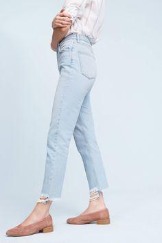 Slide View: 3: M.i.h. Mimi Ultra High-Rise Slim Jeans