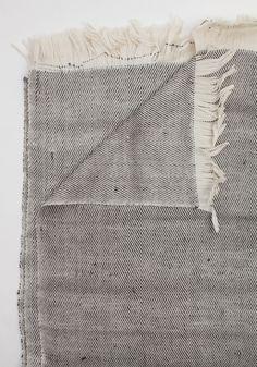 Desert Throw in Simple Stripes by Bohem   Bohem