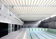 """Sports Center and Indoor Pool"" #Zaragoza #Spain"