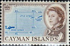 Cayman Islands 1962 SG 168 Map Fine Mint SG 168 Scott 156 More British Commonwealth Stamps to see Here