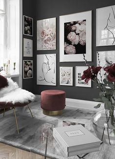 Neuheiten - Entdecke unsere neuesten Produkte & neuen Kollektionen bei Desenio You are in the right place about contemporary art deco interior Here we offer you the most beautiful pictures about the a Decor Room, Living Room Decor, Bedroom Decor, Home Decor, Bedroom Ideas, Home Design, Interior Design, Design Ideas, Cool Walls