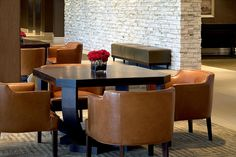 The Westin Governor Morris, Morristown—Leather seating by Westin Hotels and Resorts, via Flickr
