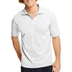 Hanes Big Men's X-temp Sportshirt, Size: 2XL, White