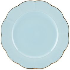 Marchesa by Lenox Dinnerware Ironstone Shades of Blue Dinner Plate ($26) ❤ liked on Polyvore featuring home, kitchen & dining, dinnerware, blue, lenox dinner plates, lenox dinnerware, blue plate, lenox plates and blue dinnerware