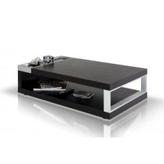 Gemstone Modern Wenge Coffee Table -