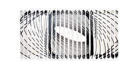 """HANDCRAFTED SKIS EXPERIENCE XAVIER VEILHAN POUR AKONITE 2014 - Ame en frêne/peuplier, Chants en robinier, Structure fibre de cellulose, liège, résine """"green"""" epoxy, Semelle en polyéthylène Haute Densité et aluminium gravé, Finition peinture acrylique blanche et noire et vernis polyuréthane mat L.10 x H.180 cm Edition Limitée à 12 ex.  Armel Soyer Gallery"""