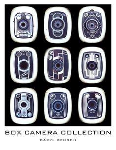 My Vintage Box Camera Collection