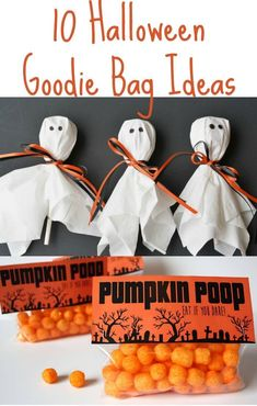 This year hand out tricks or treats for Halloween in any of these fun Halloween Goodie Bag Ideas we have gathered for you.  #LRWC #livingrichwithcoupons #halloween #halloweengoodiebags #diygoodiebags #halloweentreats