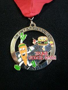 Run against diabetes veggie dash virtual 5k. 03/11/2014