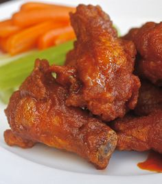 Classic Buffalo Hot Wings - The Best! | The Hopeless Housewife