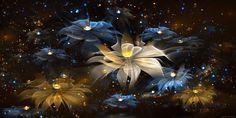 Glowing Flower Wallpapers