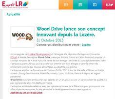 Wood Drive sur le site d'emploi LR - Octobre 2013